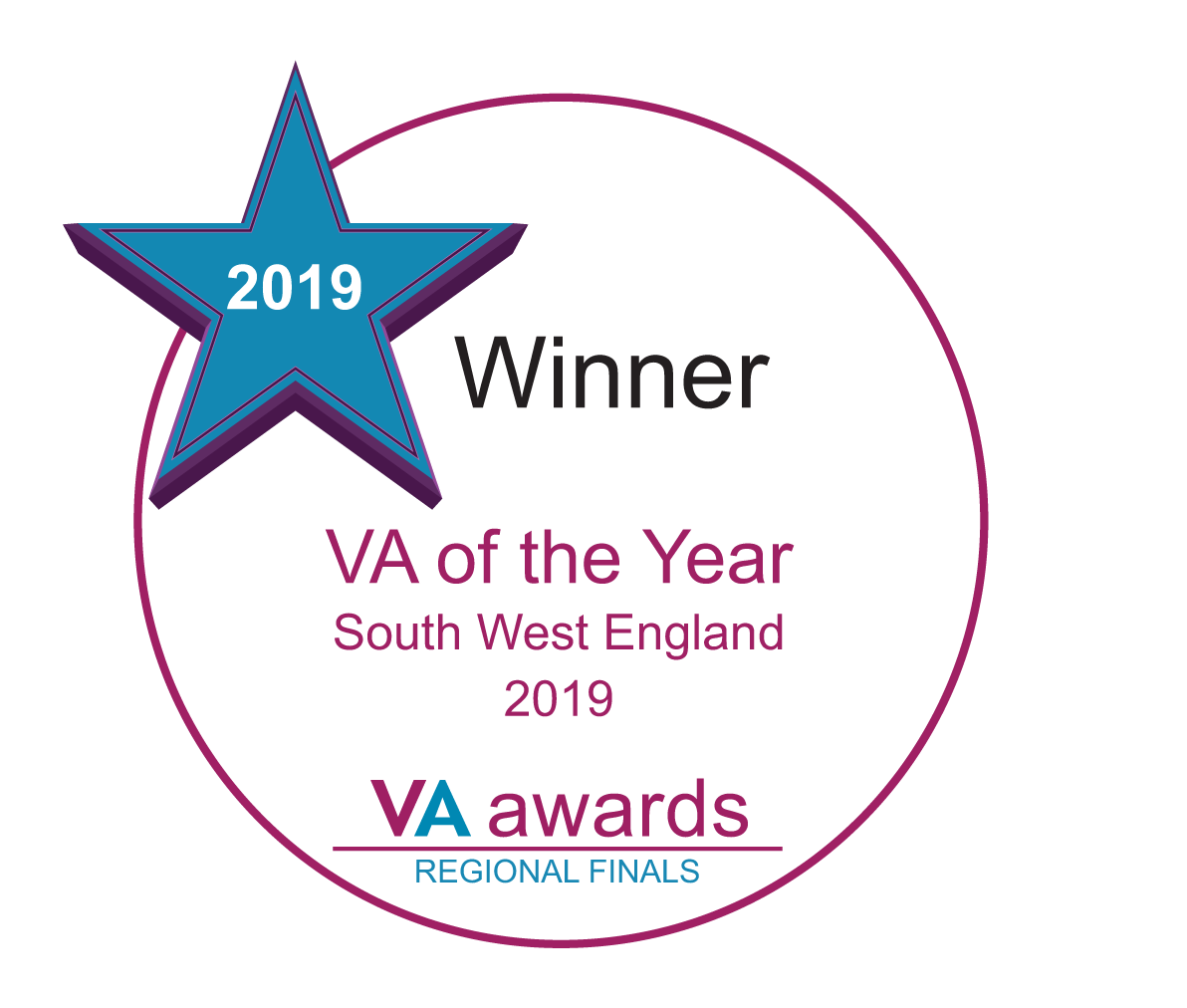 Winner South West England VA of the Year 2019